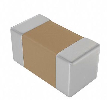 KEMET 0603 (1608M) 10nF Multilayer Ceramic Capacitor MLCC 25V dc ±10% SMD C0603C103K3RACTU (4000)