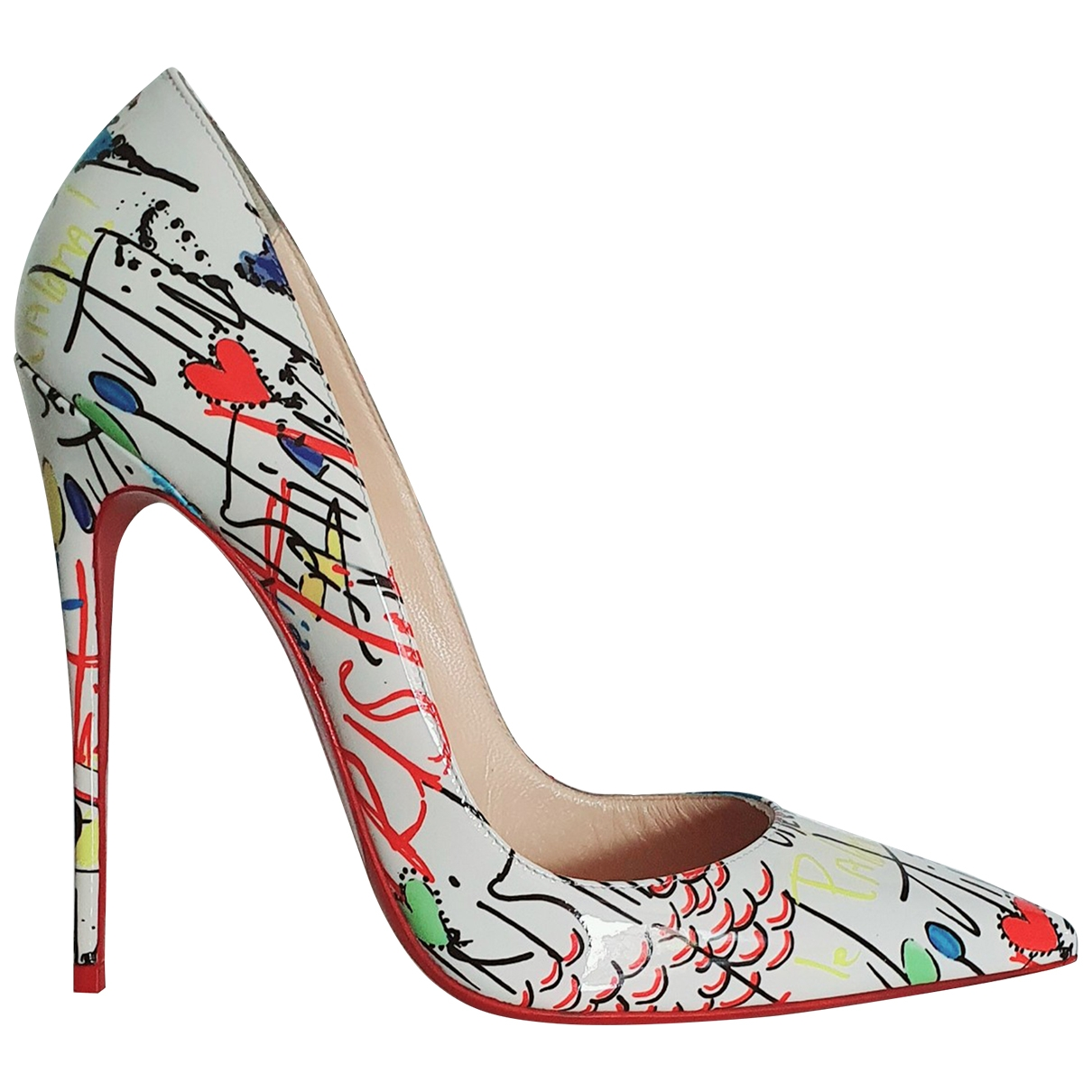 Christian Louboutin So Kate  Multicolour Patent leather Heels for Women 40 EU