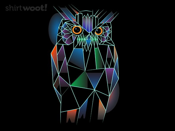 Polygonal Owl T Shirt