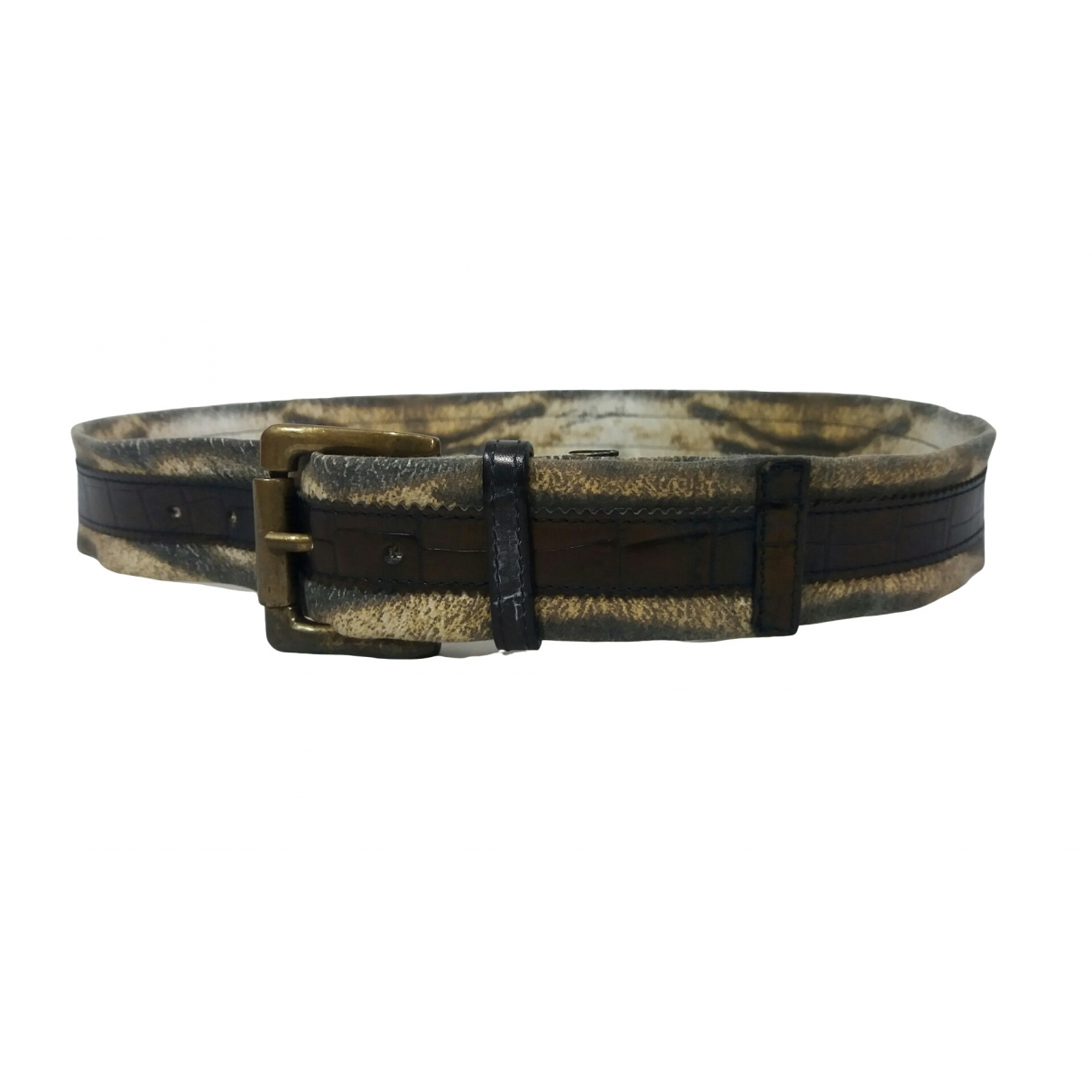 Just Cavalli \N Multicolour Cloth belt for Men 95 cm