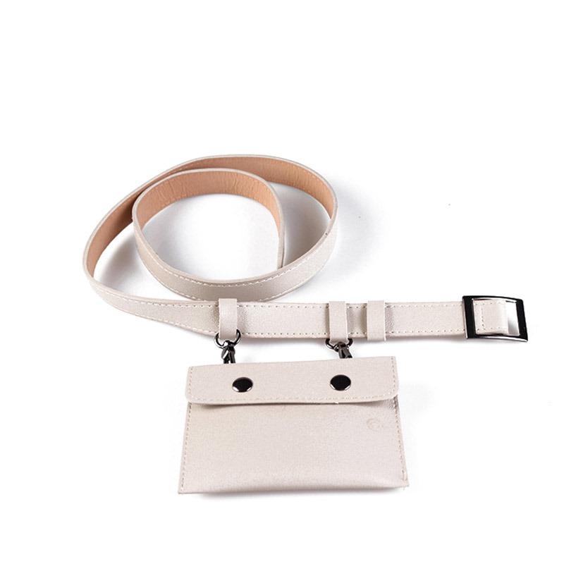 Ericdress Thread Women PU Waist Belt Bags