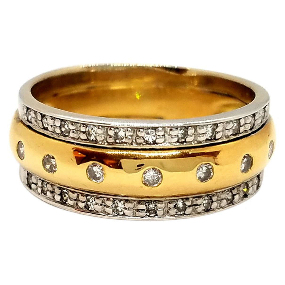 Autre Marque \N Gold Yellow gold ring for Women 52 EU