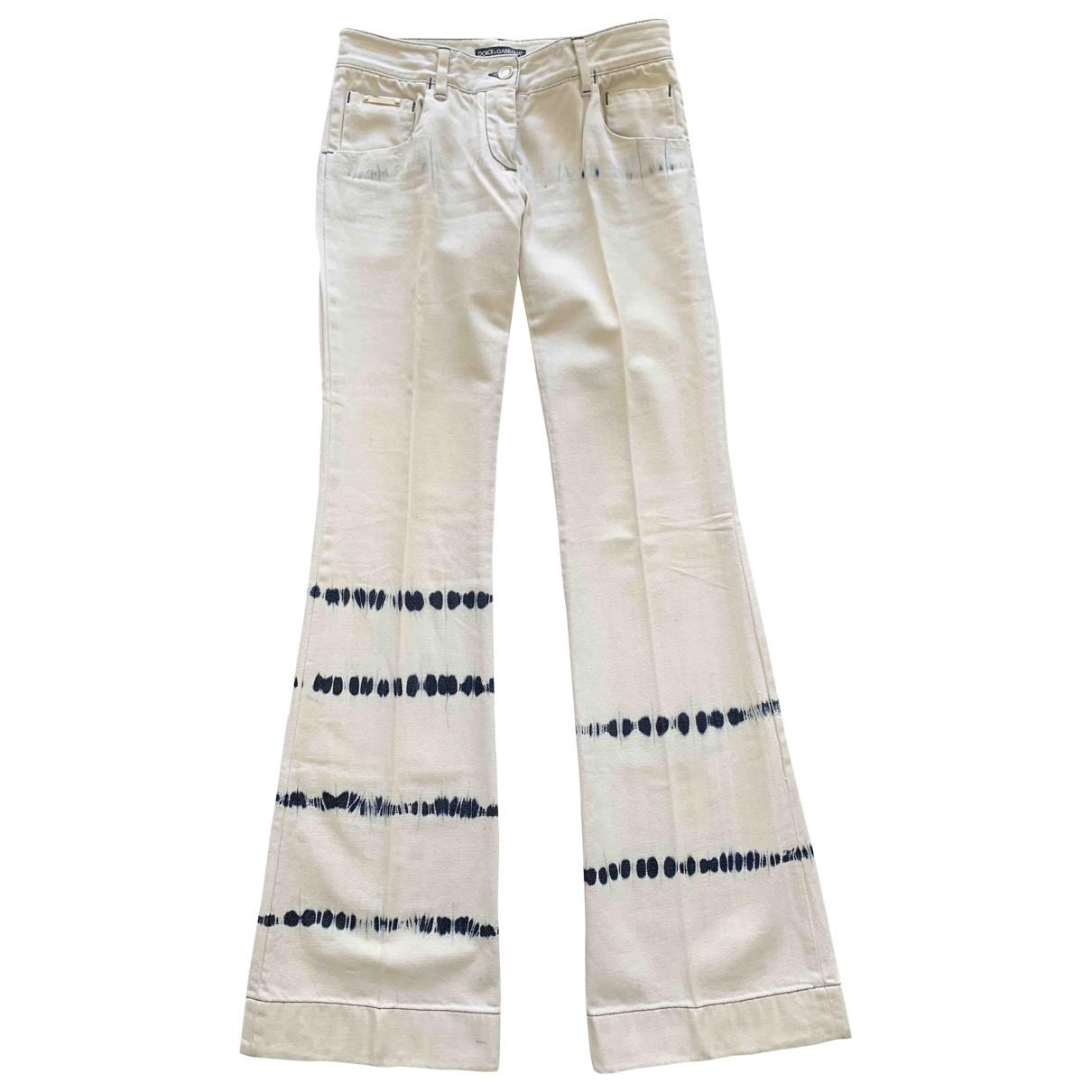 Dolce & Gabbana \N Multicolour Cotton Jeans for Women 40 FR