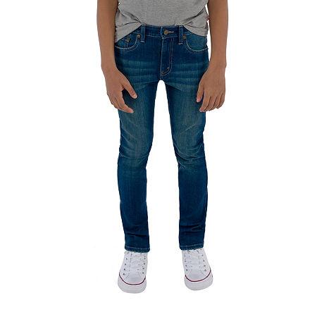Levi's Big Boys 510 Stretch Skinny Fit Jean, 16 , Blue