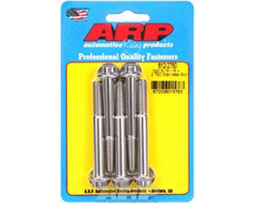 ARP 5/16in-18 x 2.750 12pt SS Bolts (5/pkg)