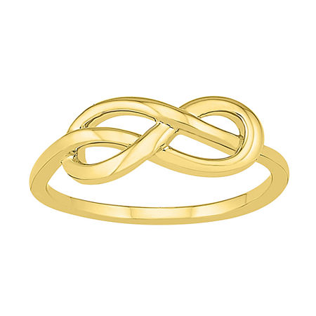 6.5MM 10K Gold Infinity Band, 9 , No Color Family