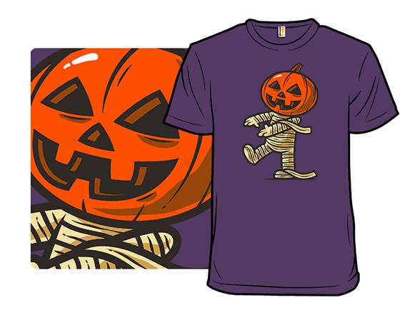 Pumpkin Mummy T Shirt