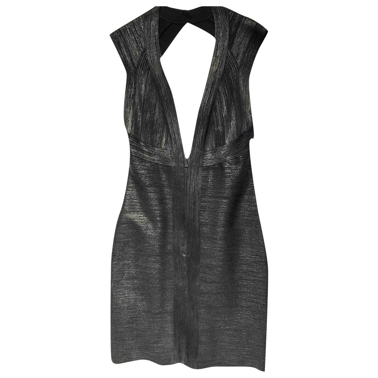 Herve Leger \N Black dress for Women L International
