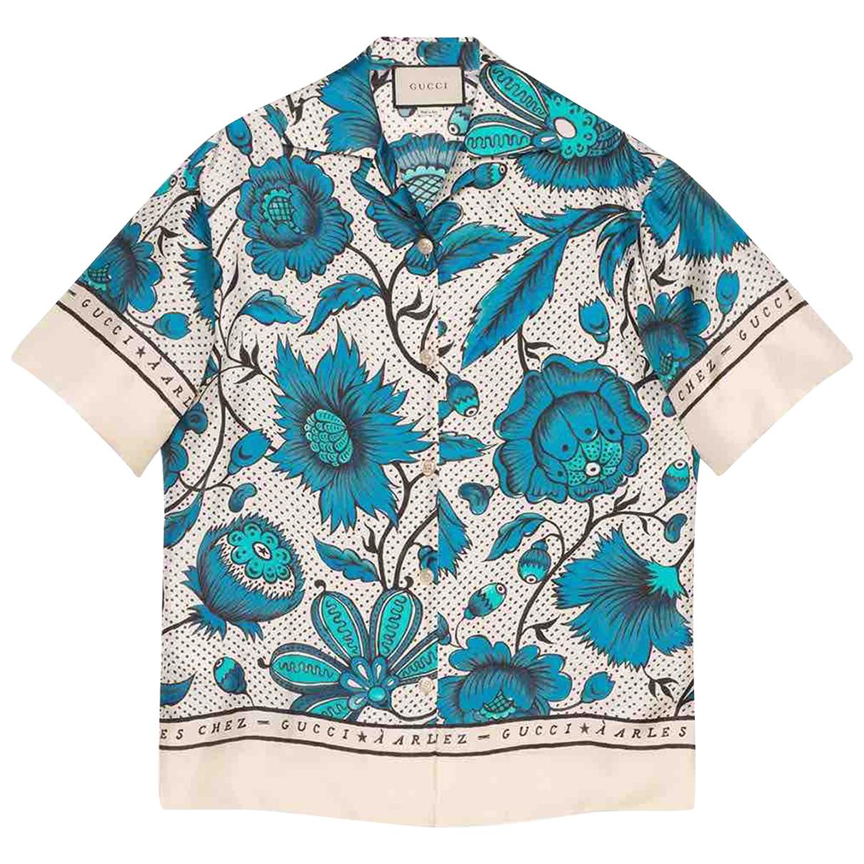 Gucci \N Beige Silk  top for Women 40