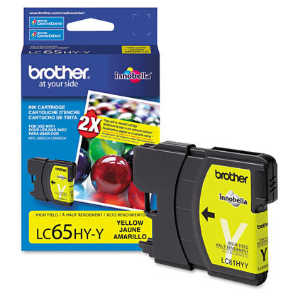 Brother MFC-5895CW Original Yellow Ink Cartridge, High Yield