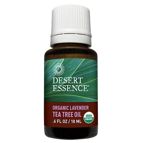 Organic Lavender Tea Tree Oil 0.6 Fl Oz by Desert Essence