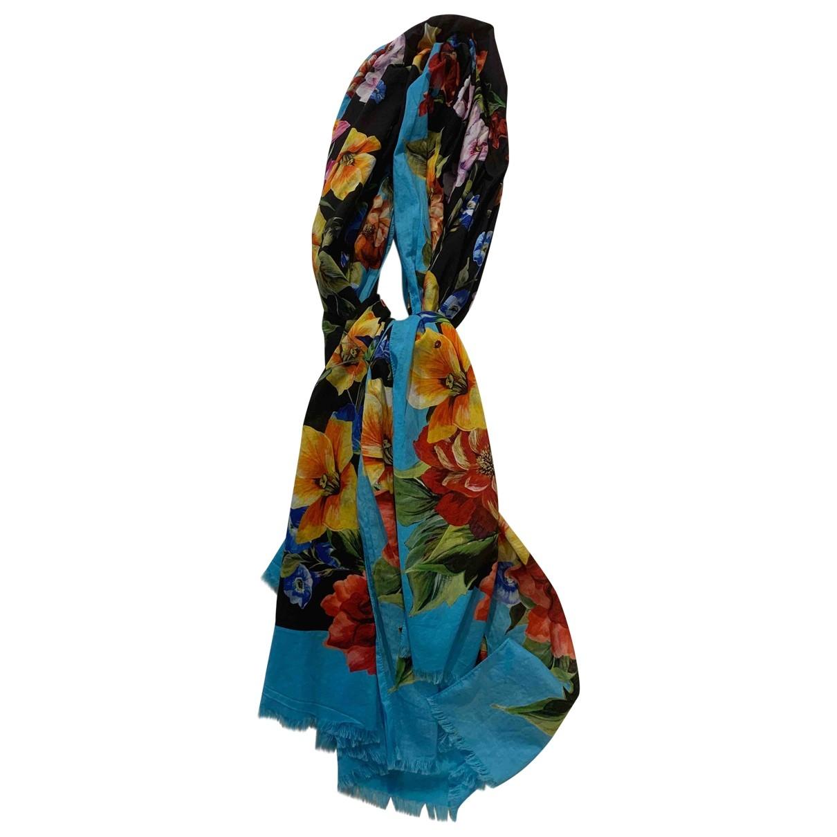 Dolce & Gabbana \N Multicolour Cotton scarf for Women \N
