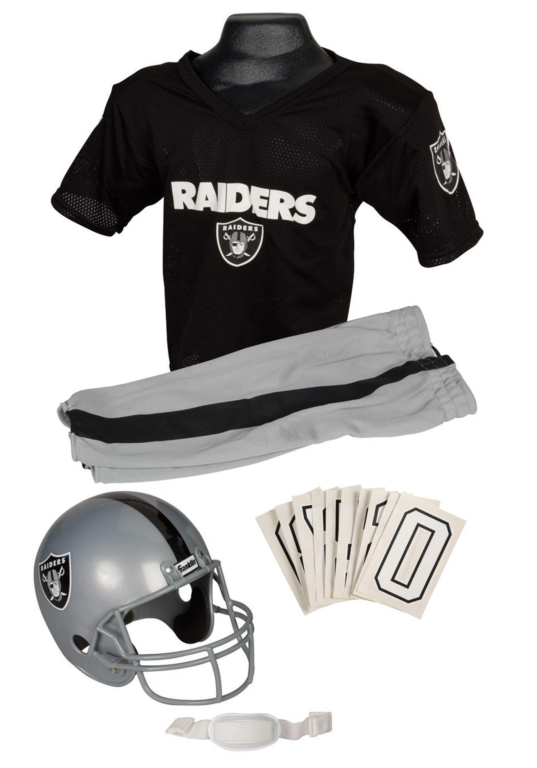 Kids Raiders NFL Uniform Costume