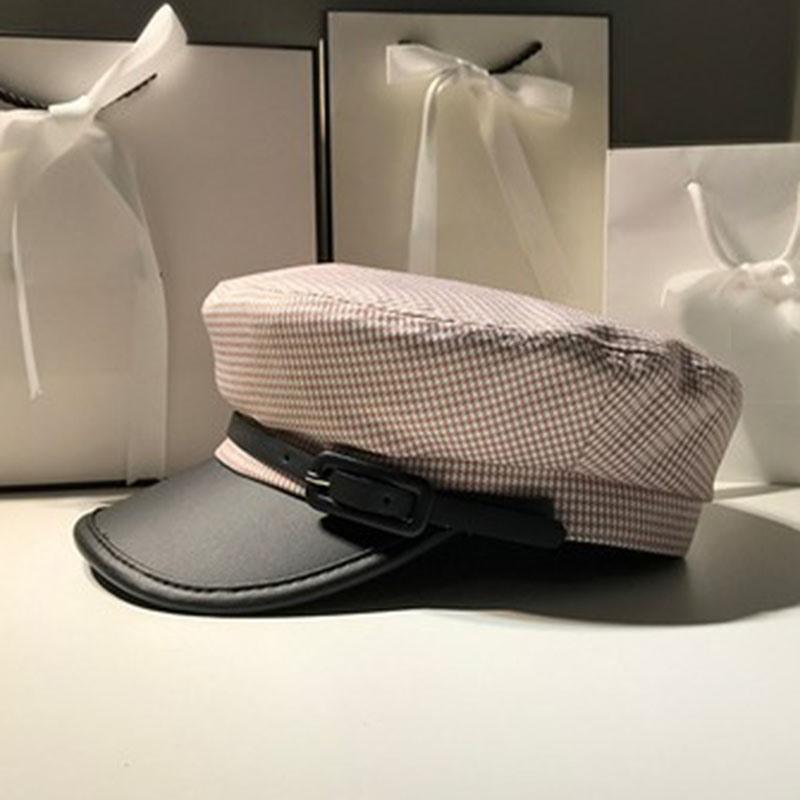 Ericdress Casual Linen Plaid Hats