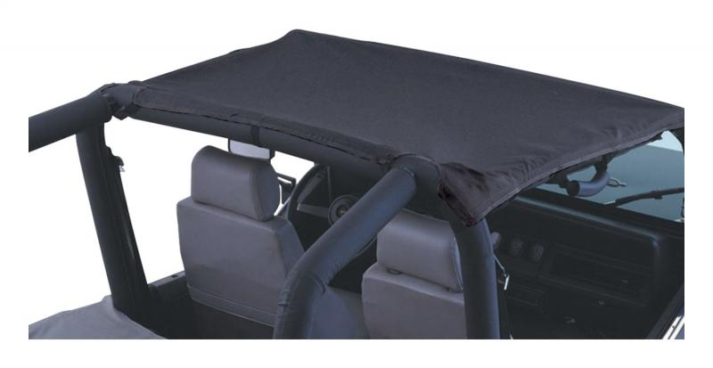 RT Offroad BT30015 Black Denim Beach Topper for 1992-1995 Jeep YJ Wrangler Jeep Wrangler 1992-1995
