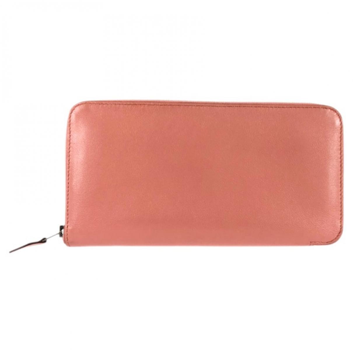 Hermès Azap Pink Leather wallet for Women \N