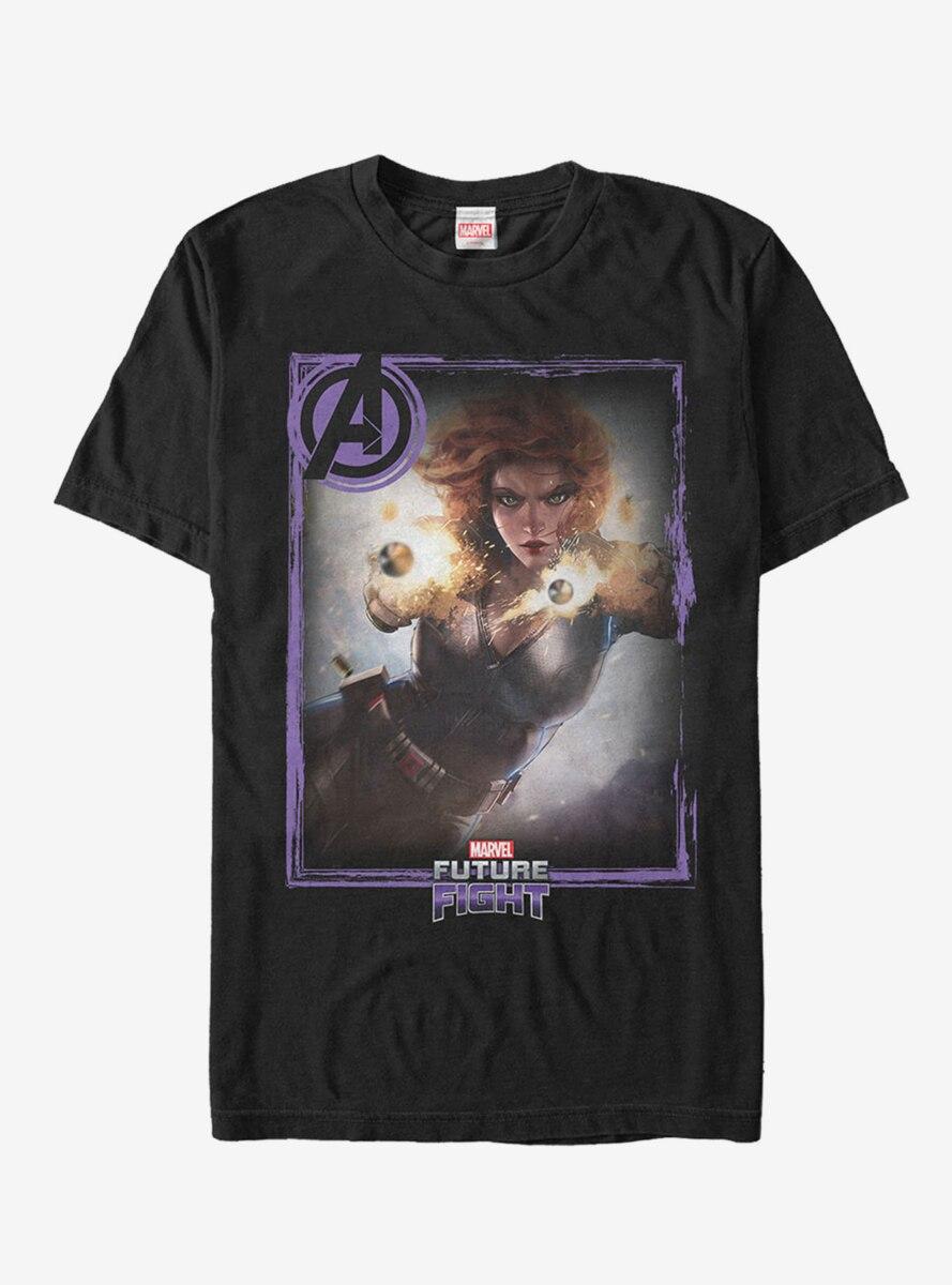 Marvel Future Fight Black Widow T-Shirt