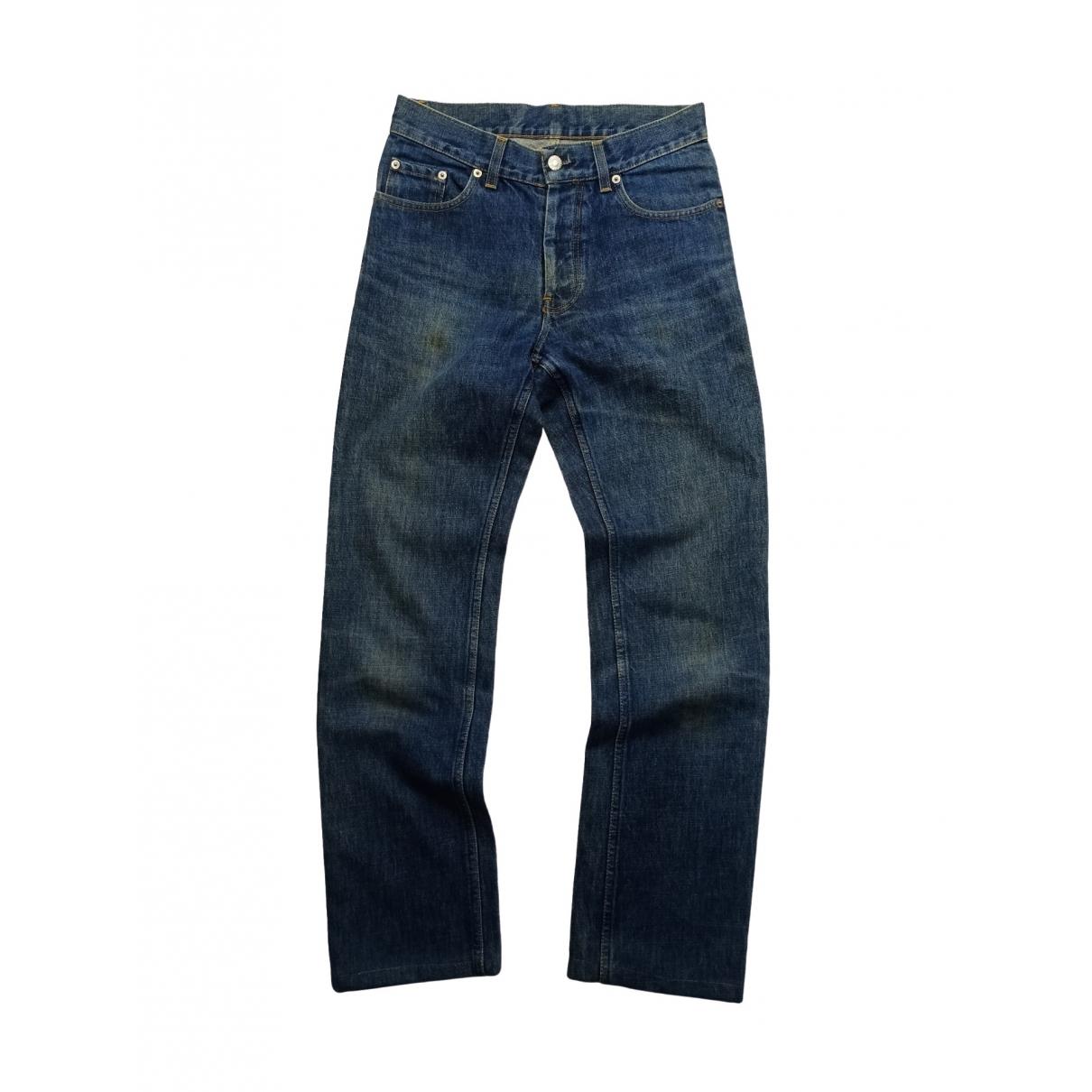 Helmut Lang \N Blue Cotton Jeans for Men 29 US