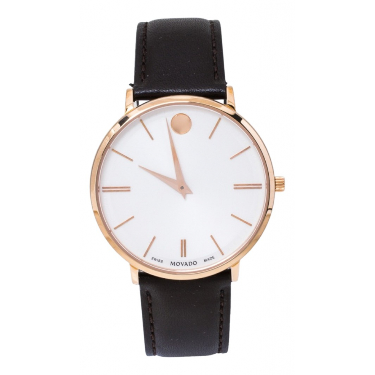 Movado \N White Gold plated watch for Men \N