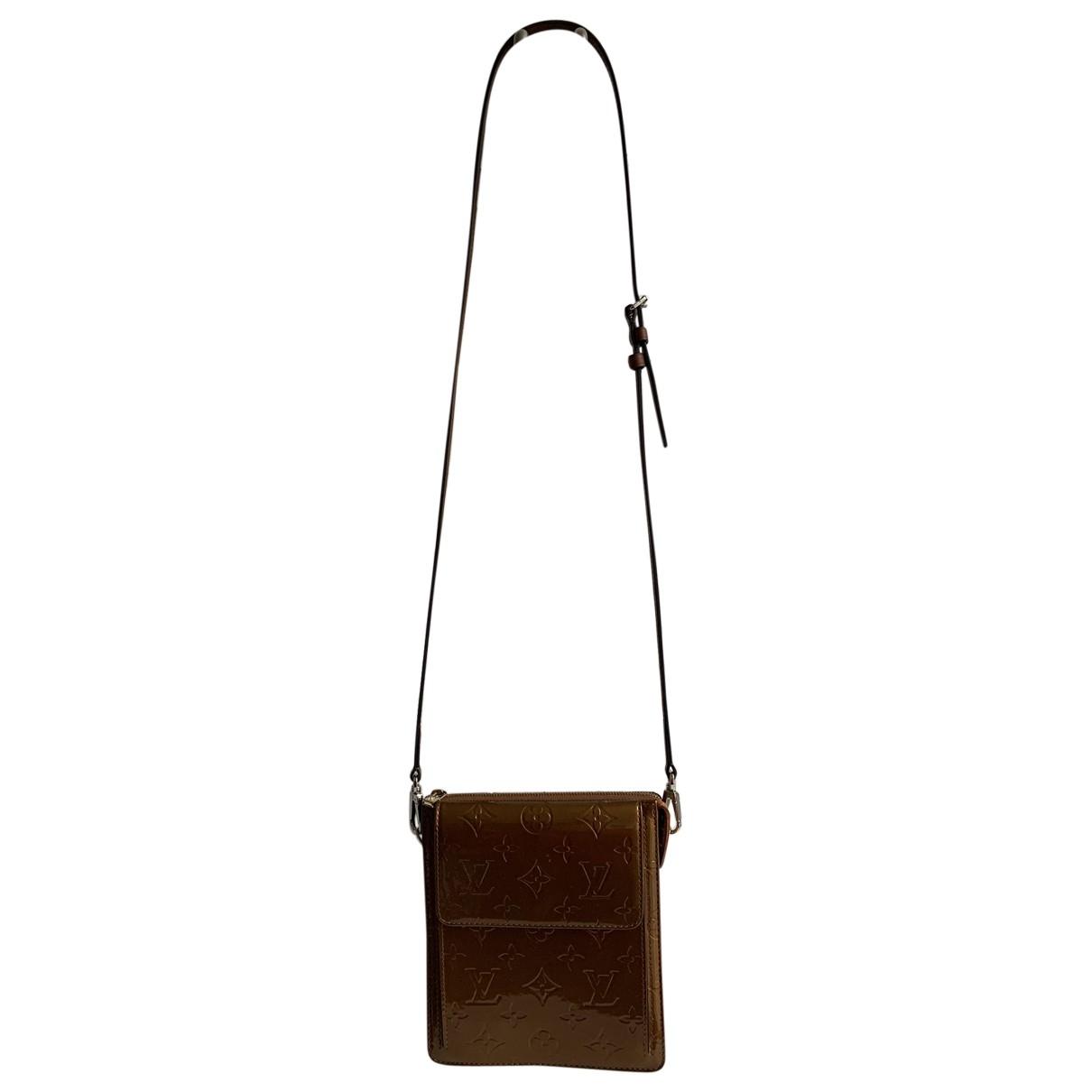 Louis Vuitton \N Brown Patent leather handbag for Women \N
