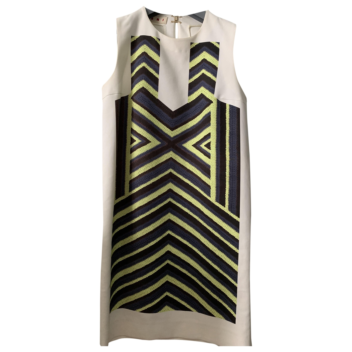 Marni \N Multicolour Cotton dress for Women 40 IT