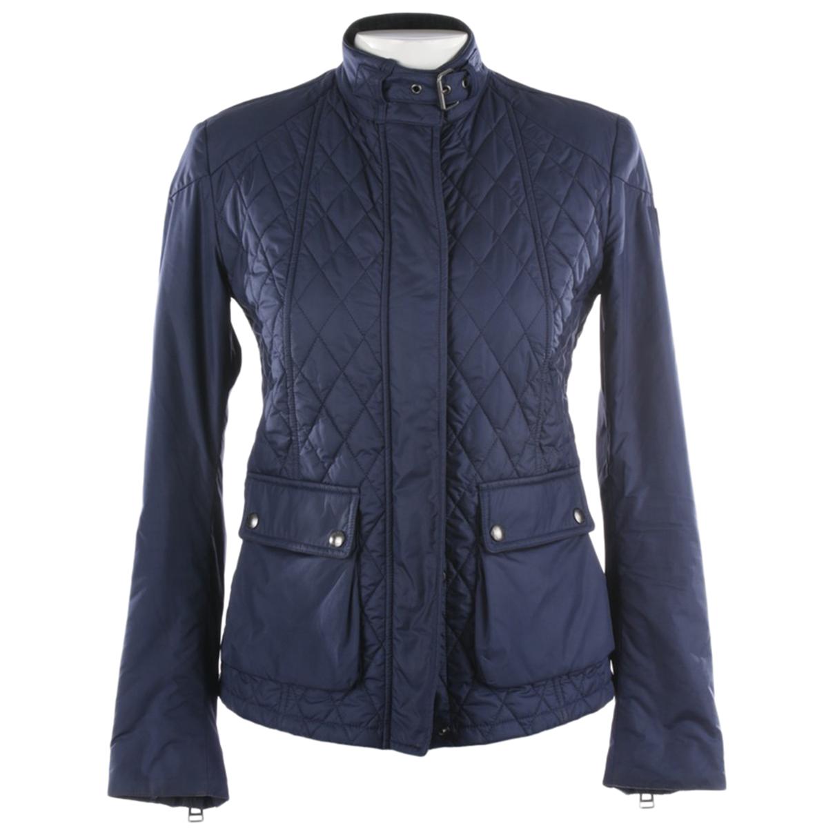Belstaff \N Blue jacket for Women 36 FR
