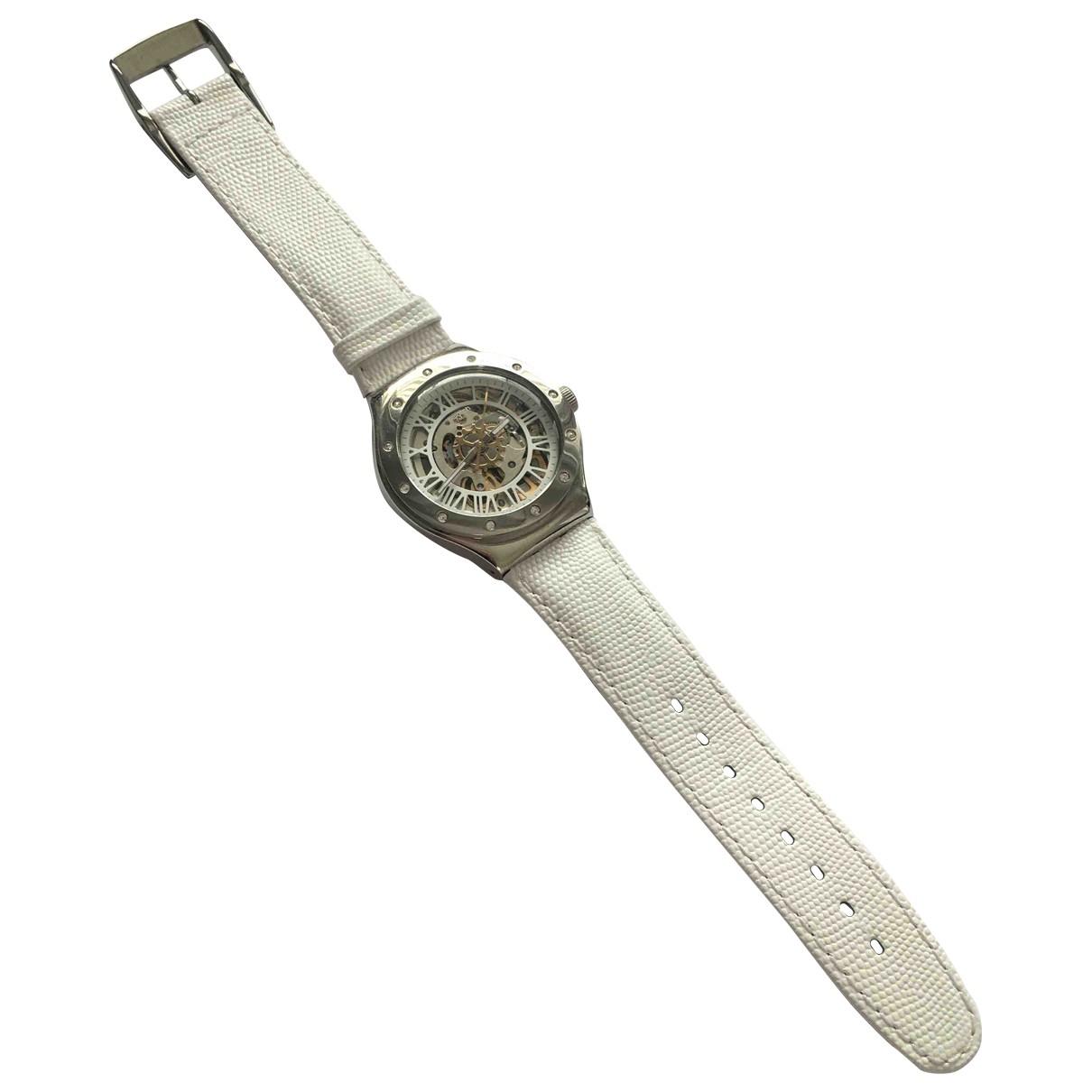 Swatch \N White Steel watch for Women \N