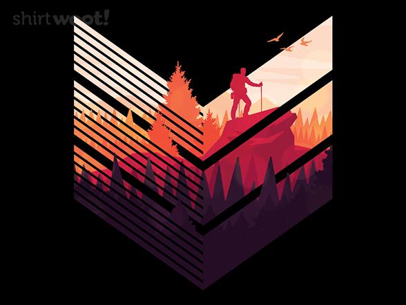 Modern Hiker T Shirt
