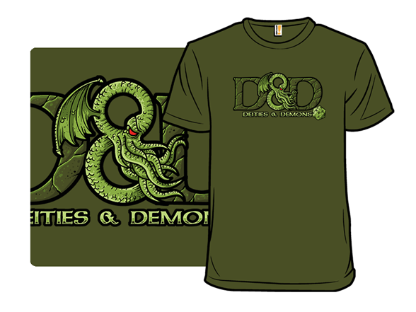 Deities And Demons T Shirt
