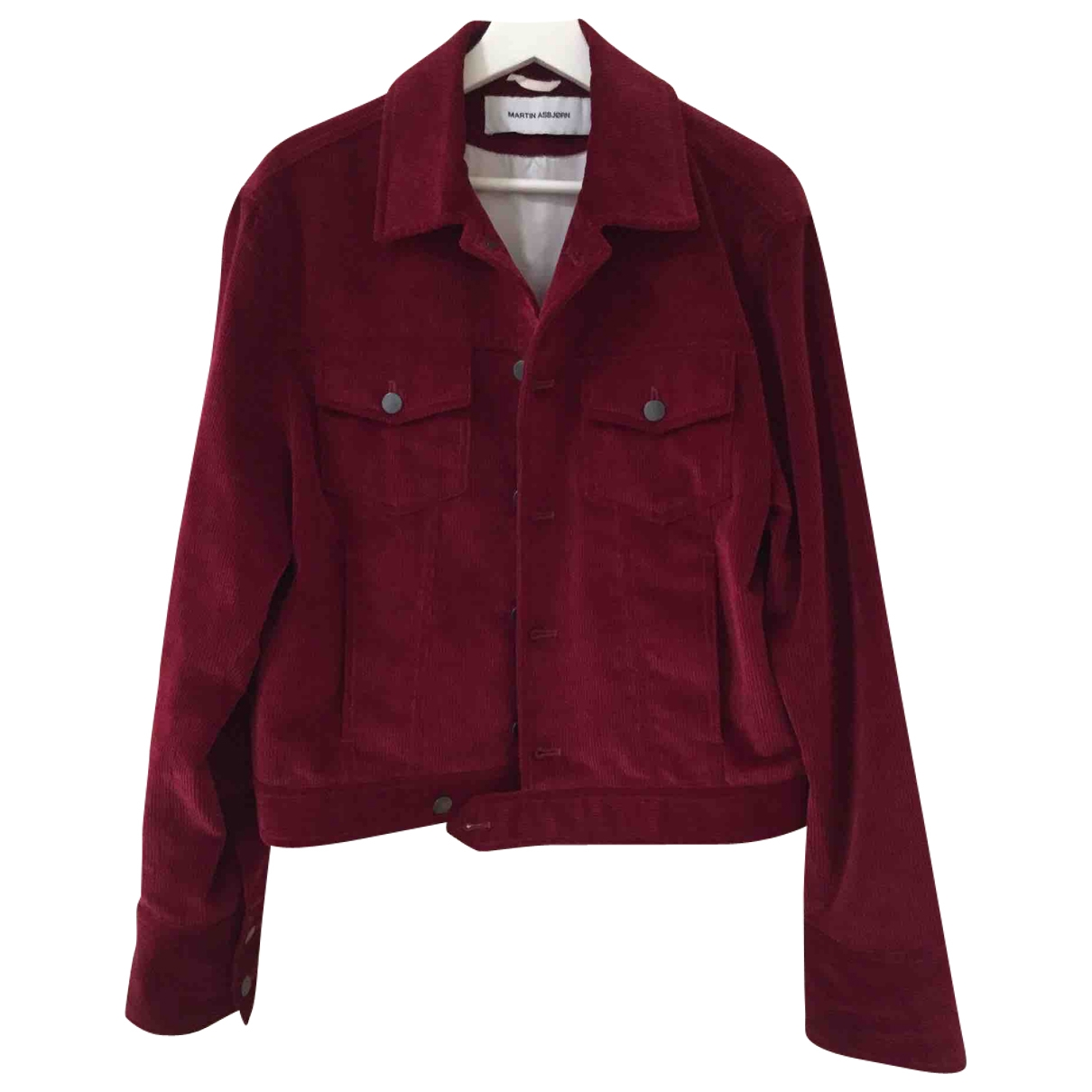Non Signé / Unsigned Oversize Red jacket  for Men 46 IT