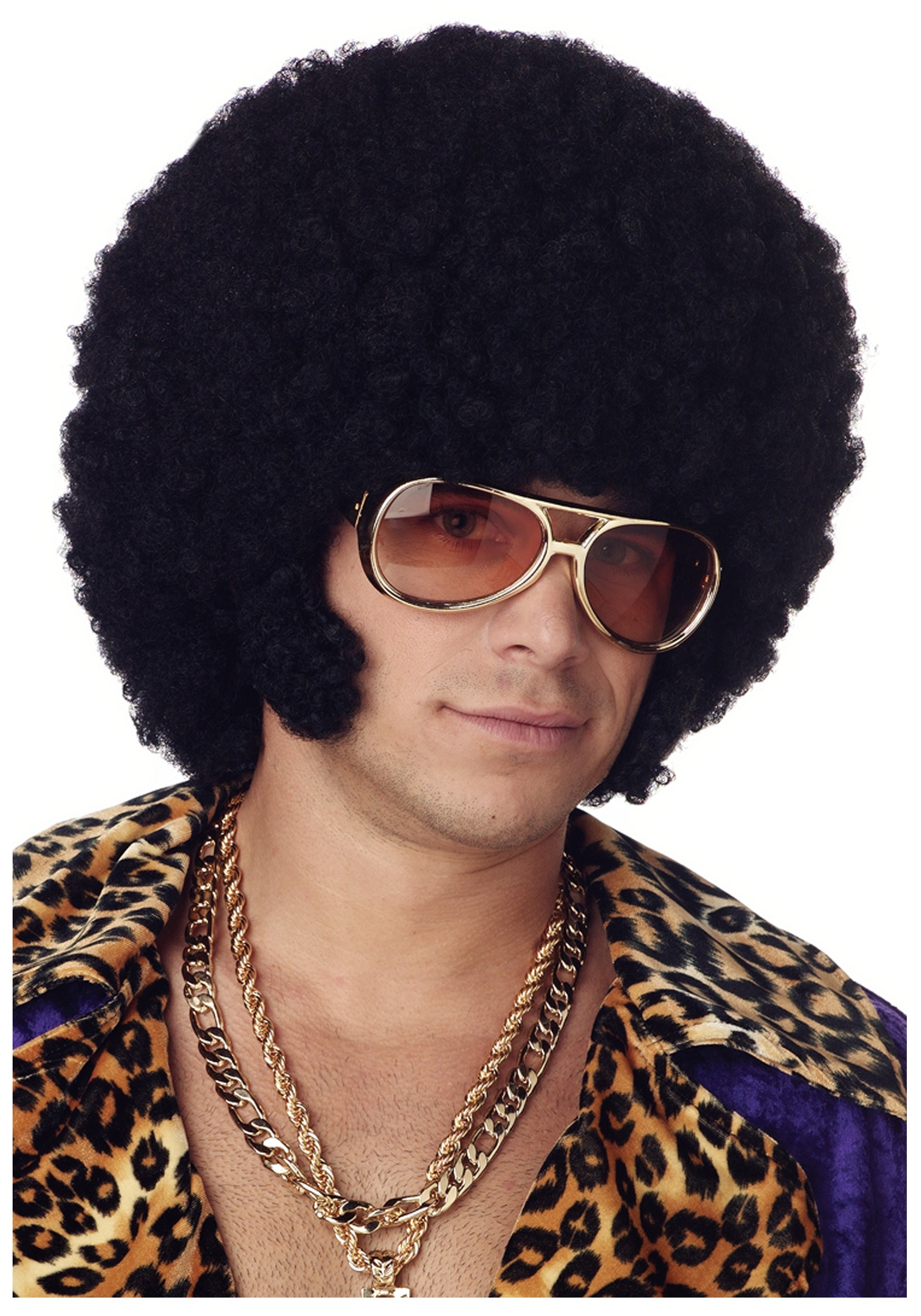 Afro Chops Mens Wig