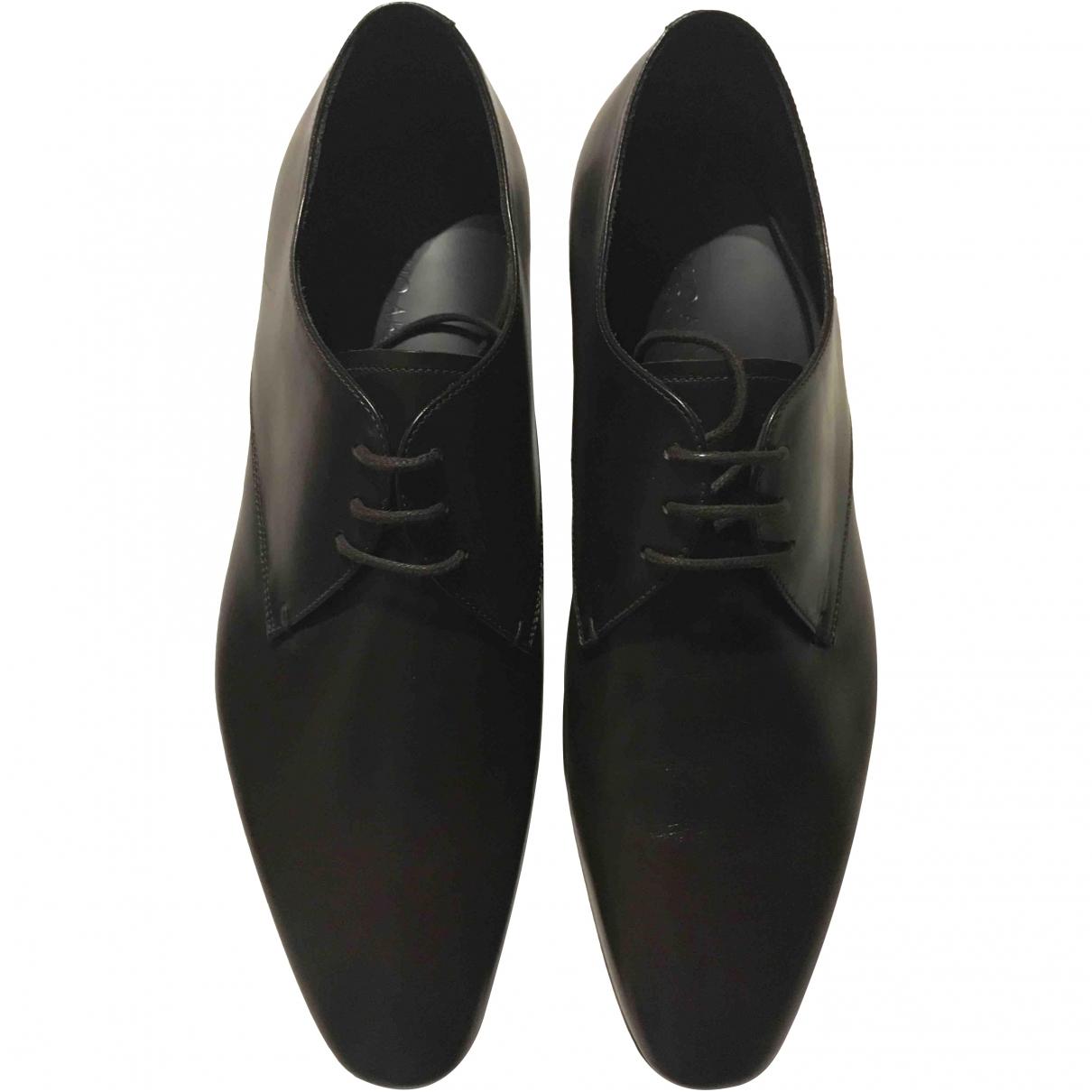 Giorgio Armani \N Brown Leather Lace ups for Men 44 EU