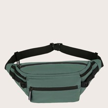 Zipper Front Large Capacity Fanny Pack