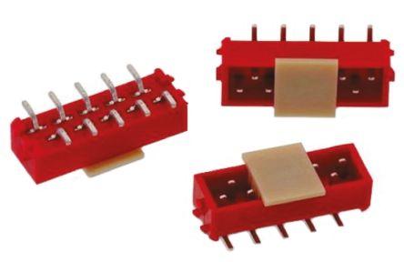 Wurth Elektronik , WR-MM, 10 Way, 2 Row, Straight PCB Header (5)