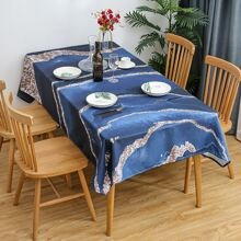 Marble Pattern Tablecloth