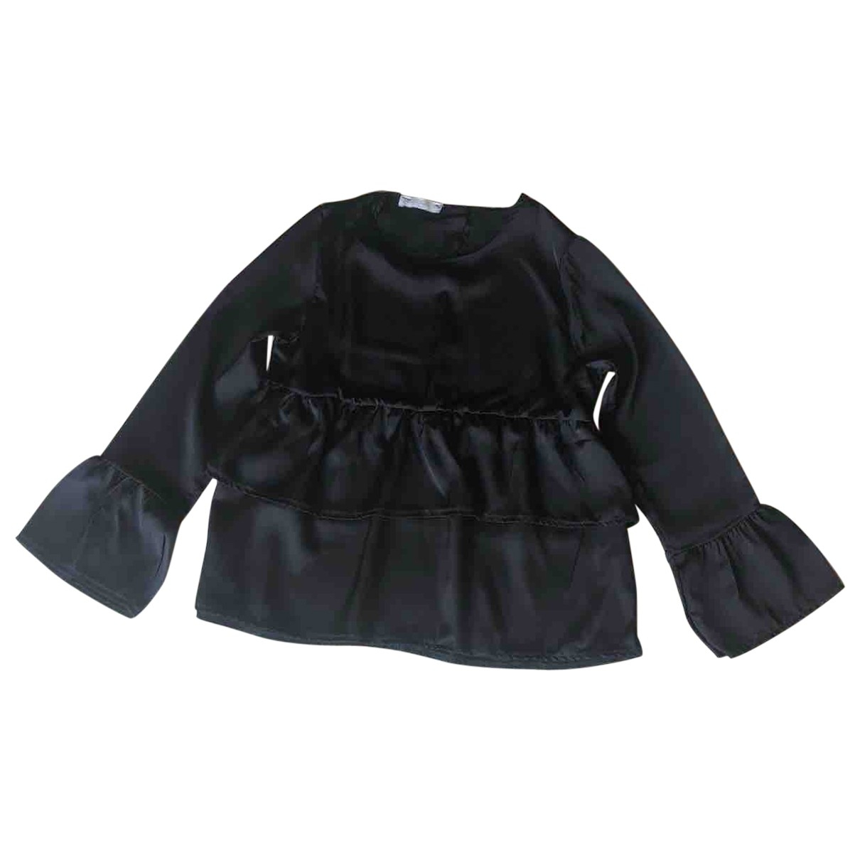 Non Signé / Unsigned \N Black  top for Women One Size International