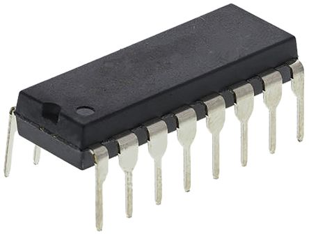 Texas Instruments SN75C1406N, Multichannel Line Transceiver, RS-232 3-TX 3-RX, 16-Pin PDIP (5)