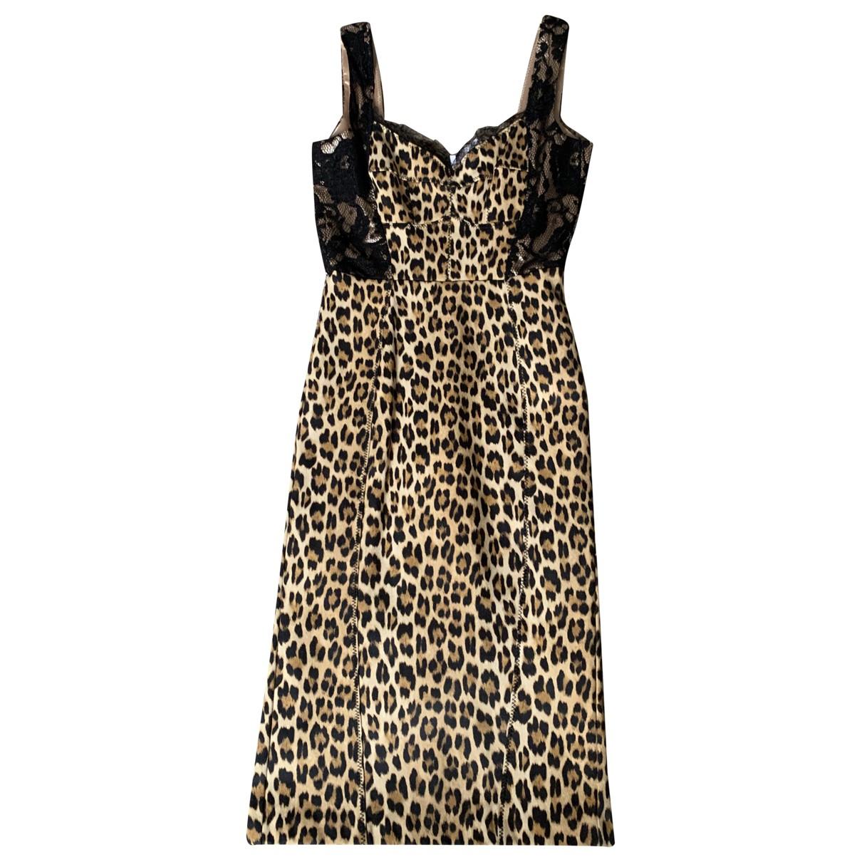 Elisabetta Franchi \N Multicolour Silk dress for Women 40 IT