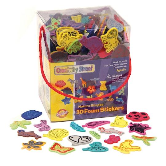 Pacon® 4 oz Peel & Stick Nature Themed 3D Wonderfoam® Sticker Box   Michaels®
