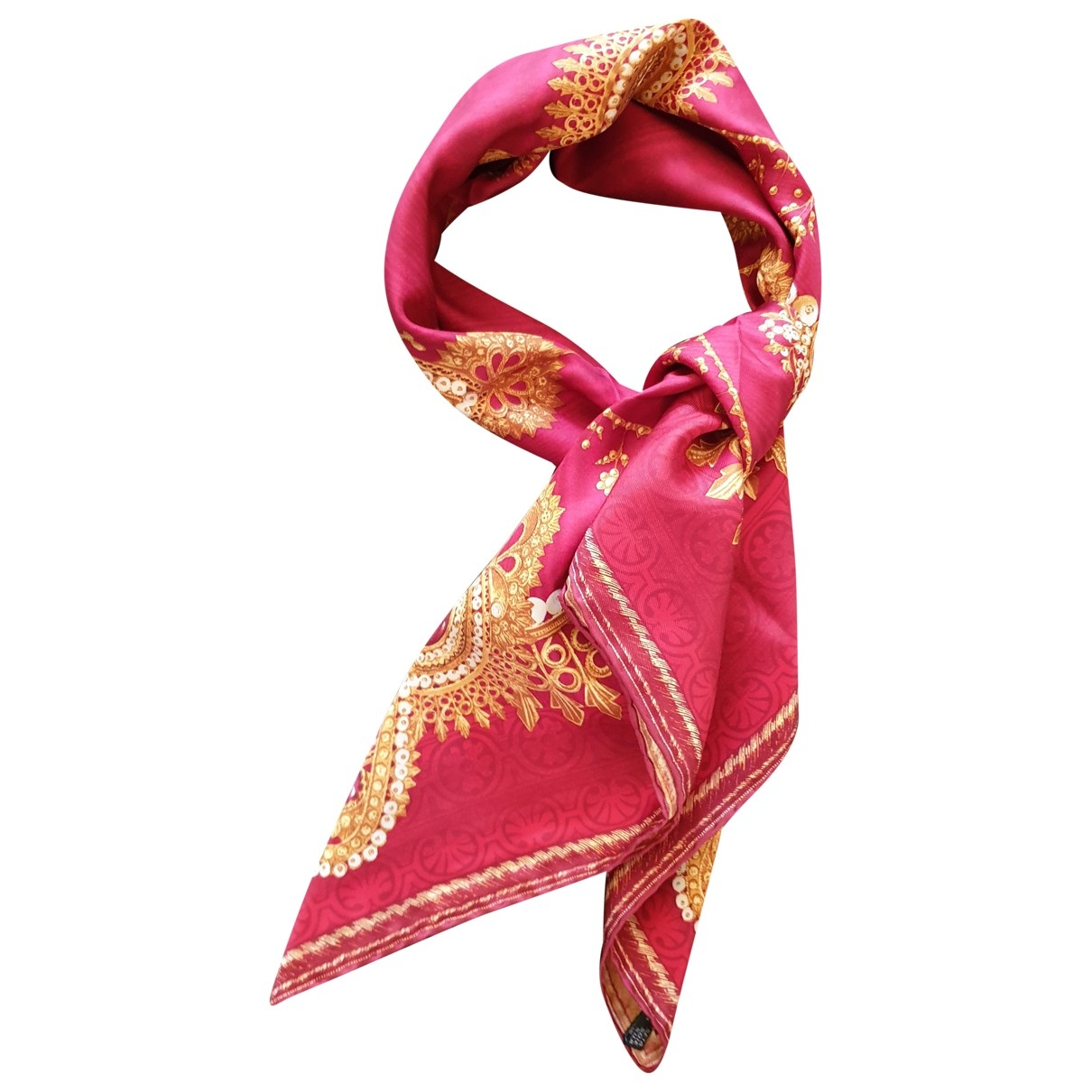Gianfranco Ferré \N Red Silk Silk handkerchief for Women \N