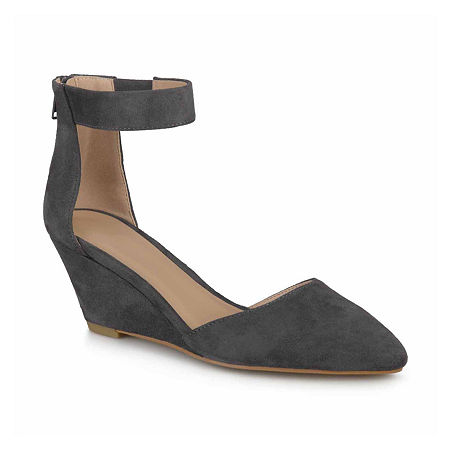 Journee Collection Womens Kova Slip-On Shoes, 9 Medium, Gray