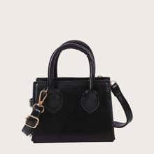 Girls Minimalist Satchel Bag