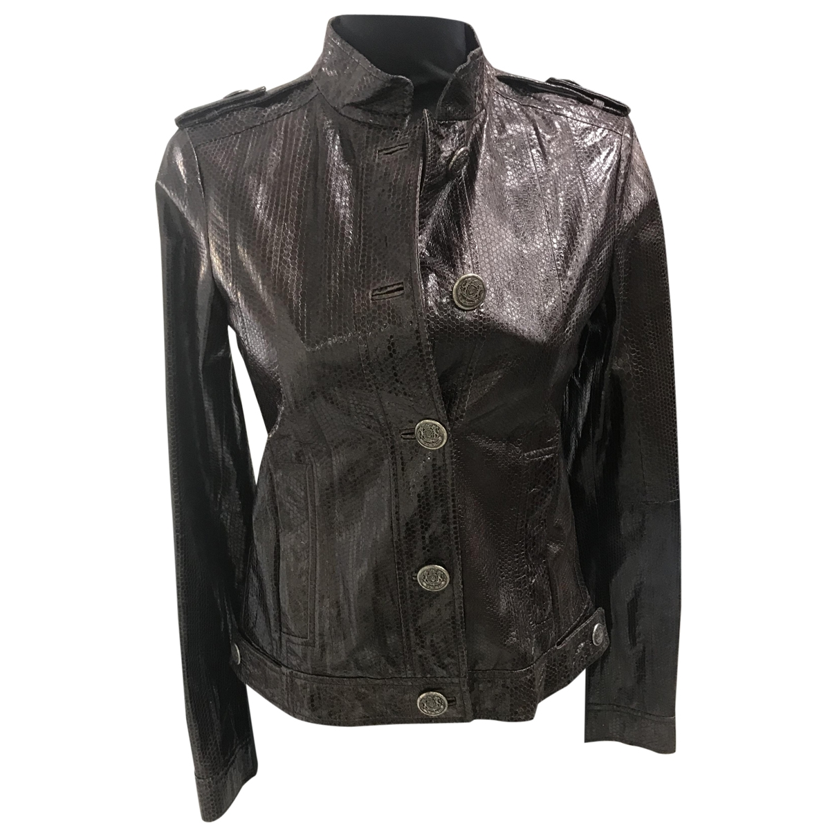 Iceberg \N Brown Water snake jacket for Women 42 IT