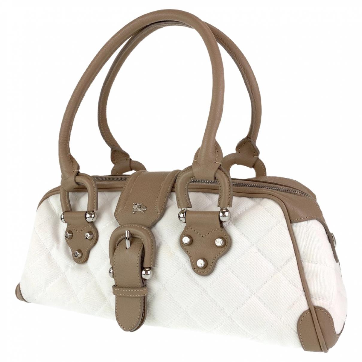Burberry \N Leather handbag for Women \N