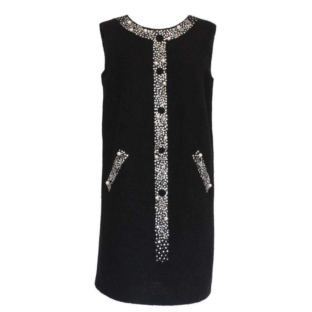 Moschino \N Black Wool dress for Women 44 IT