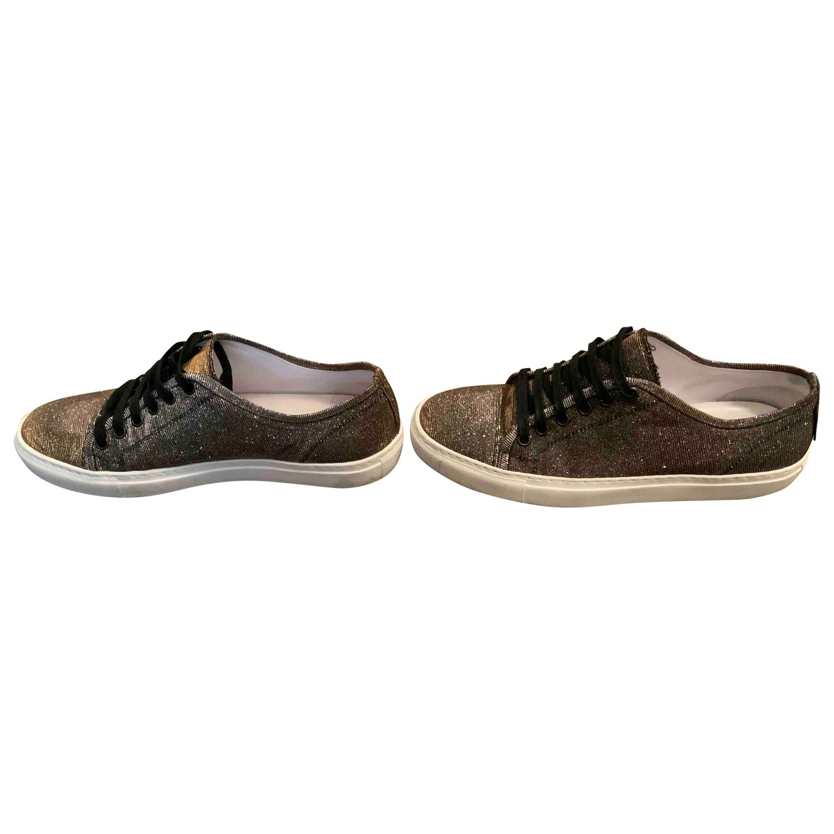 Russell & Bromley \N Metallic Glitter Trainers for Women 40 EU