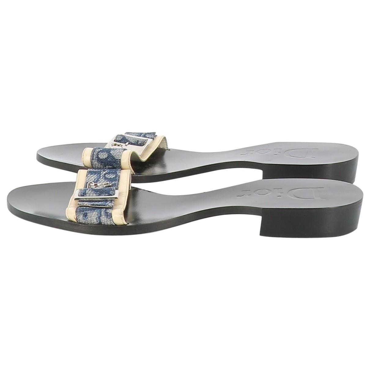 Dior \N Cloth Sandals for Women 38 EU