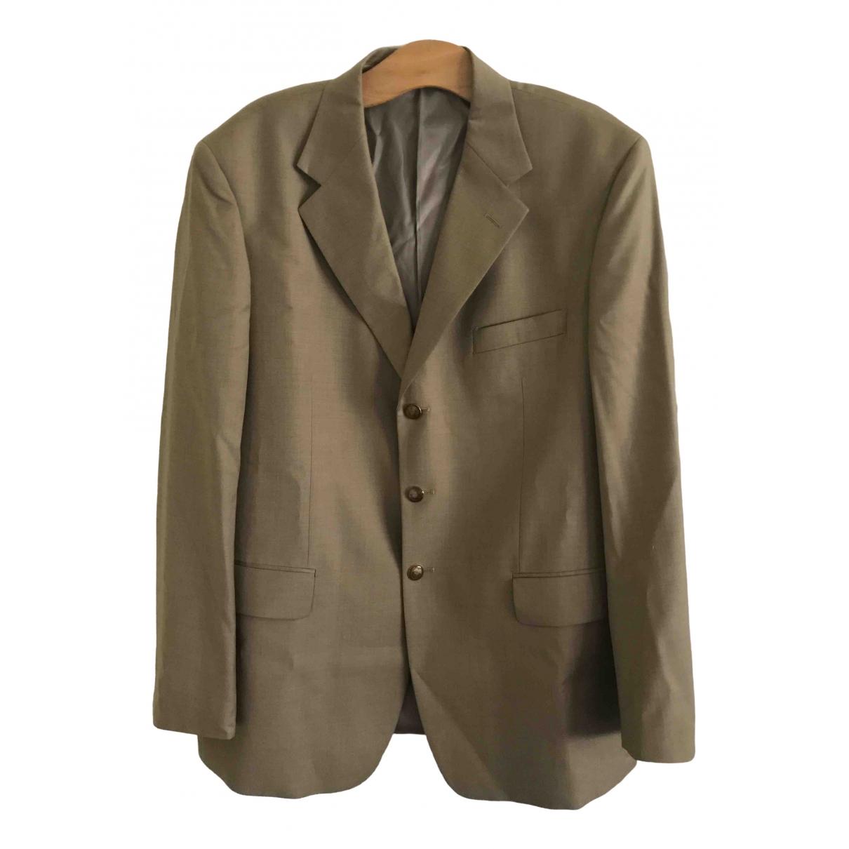 Bvlgari \N Beige Wool jacket  for Men 46 IT