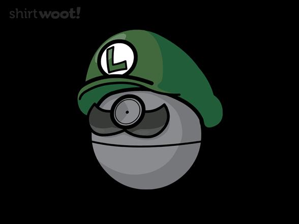 Luigi Death Star T Shirt
