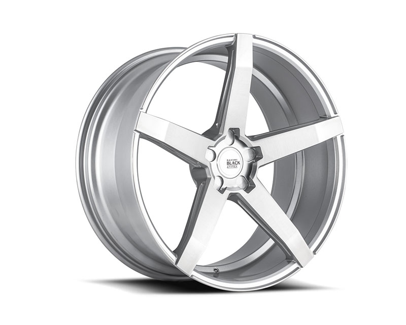 Savini BM11-19095545R3560 di Forza Brushed Silver BM11 Wheel 19x9.5 5x114.3 35mm